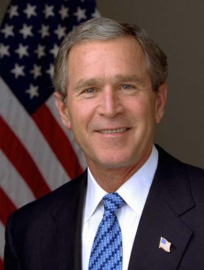 George W. Bush /// (Wikipedia)