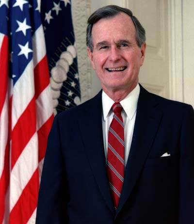 George H. W. Bush /// (Wikipedia)