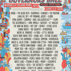 Drake, St. Vincent, Bjork, Lana Del Rey + More – The Ultimate Guide To Governors Ball 2015
