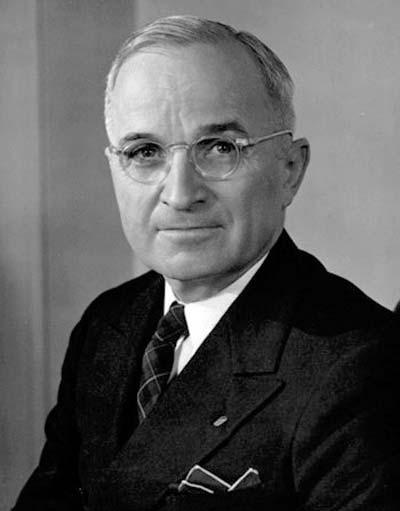 Harry S. Truman /// (Wikipedia)