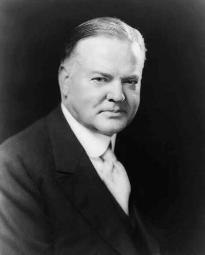 Herbert Hoover /// (Wikipedia)