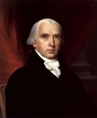 James Madison /// (Wikipedia)