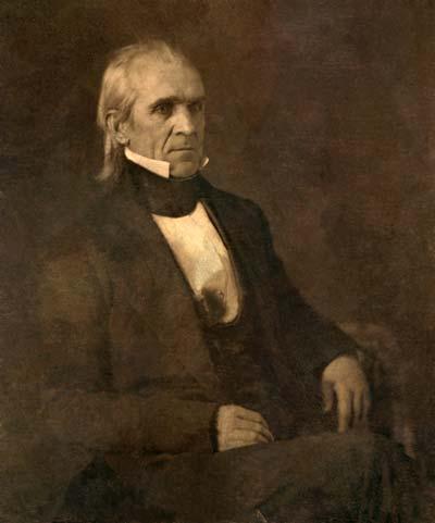 James K. Polk /// (Wikipedia)