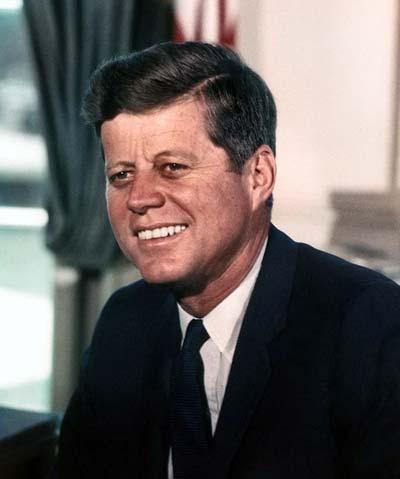 John F. Kennedy /// (Wikipedia)
