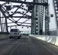 marine parkway bridge driving south
