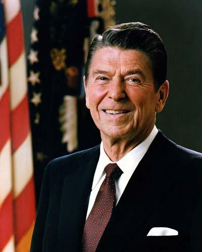 Ronald Reagan /// (Wikipedia)