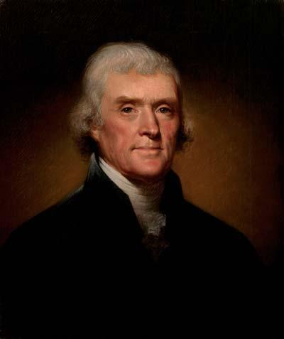 Thomas Jefferson /// (Wikipedia)