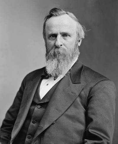 Rutherford B. Hayes /// (Wikipedia)