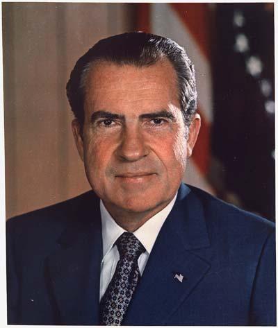 Richard Nixon /// (Wikipedia)