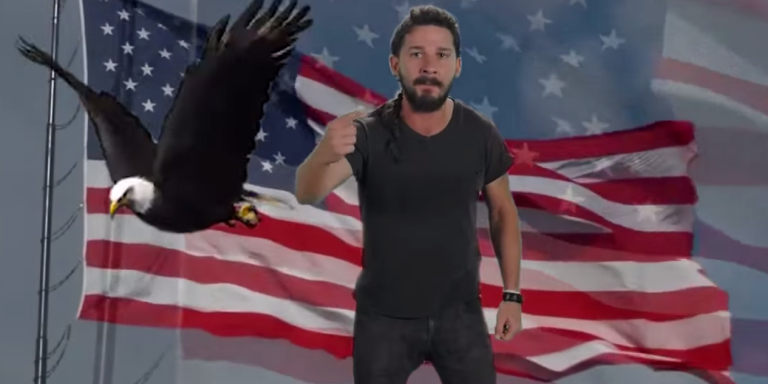 A Roundup Of Shia LaBeouf's Motivational Speech From Around TheInternet