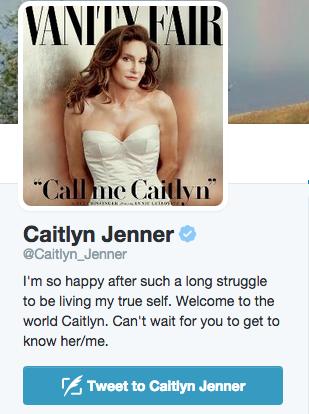 Twitter / Caitlyn Jenner