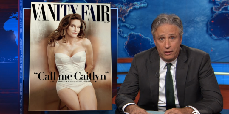 Jon Stewart Finally Pointed Out The Hypocrisy Of The Caitlyn Jenner MediaFrenzy