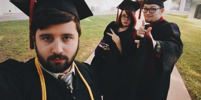 15 Emotional Stages You'll Experience During Your Last Week Of College