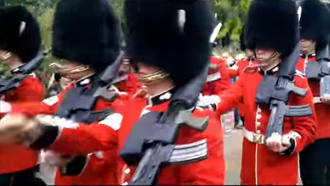Don't Be This Tourist Who Got Mowed Over By The Queen's Guard