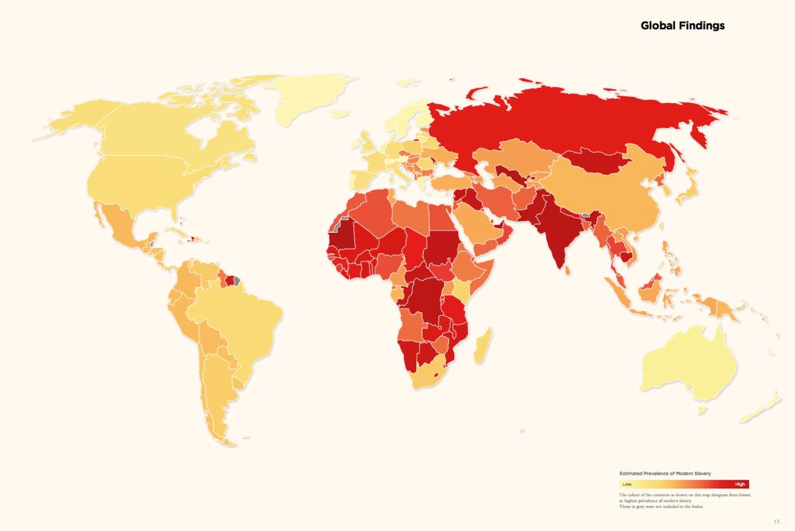 via the Global Slavery Index