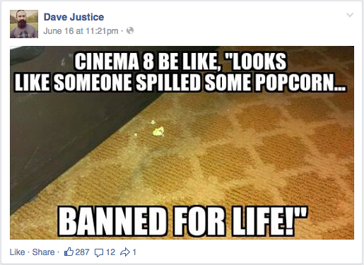 Facebook / Dave Justice