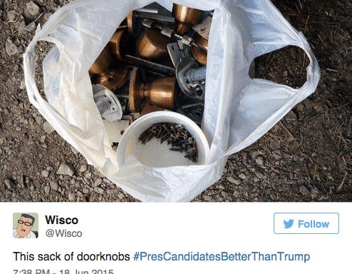 27 Hysterical (And True) Suggestions For #PresCandidatesBetterThanTrump