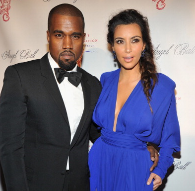 Kanye And Kim Kardashian Announce On Instagram They're Expecting A Baby Boy