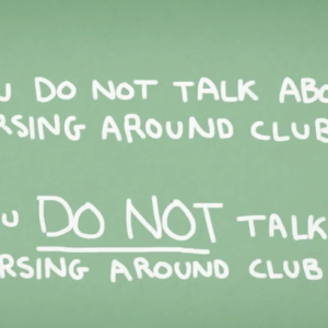 """This Video Of Chuck Palahniuk Reading """"Fight Club 4 Kids"""" Is Hilariously Perfect"""