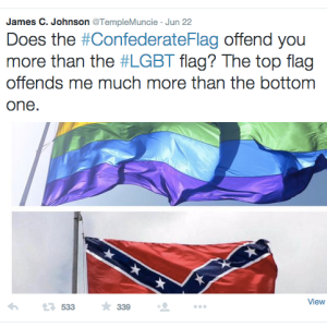 11 Perfect God-Given Responses To James C. Johnson's Homophobic Tweet