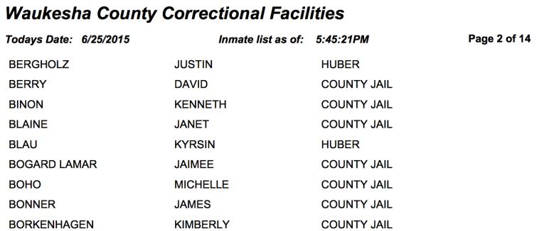 Waukesha County Correctional Facilities