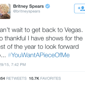 What Did Britney Tweet At Iggy?