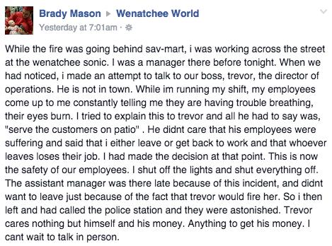 Facebook / Wenatchee World