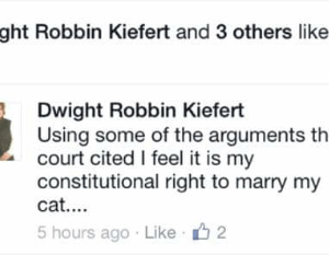 Spelling-Challenged State Senator Claims Marriage Equality Is A Victory For The Mentally Ill