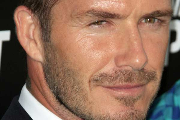 David Beckham (Shutterstock)