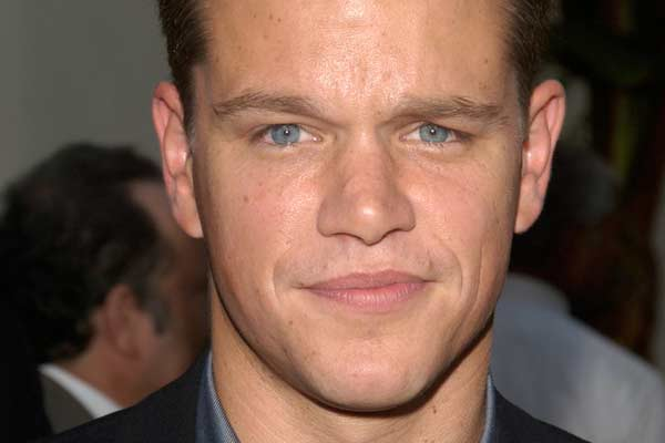 Matt Damon (Shutterstock)
