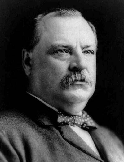 Grover Cleveland /// (Wikipedia)