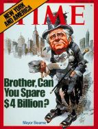 time cover mayor beame