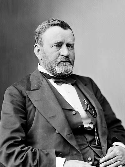 Ulysses S. Grant /// (Wikipedia)