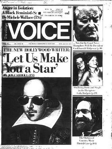 village voice late july 1975