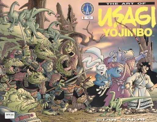 Usagi Yojimbo via Comics Vine