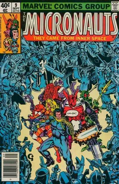 Micronauts #9 via Comic Vine