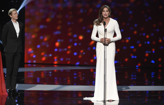 Watch Caitlyn Jenner's Passionate ESPY Speech: 'Trans People Deserve YourRespect'