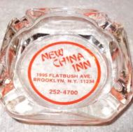 1974 new china inn ashtray