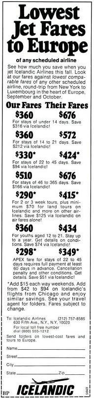 1975 Icelandic Airlines ad