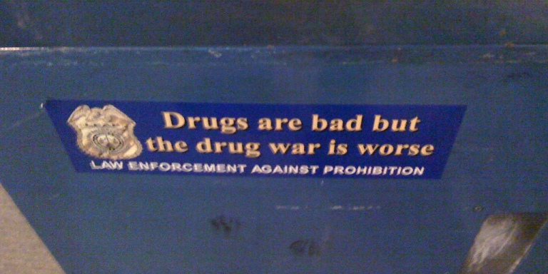 We've Already Lost The War OnDrugs