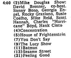 4 pm tv listings
