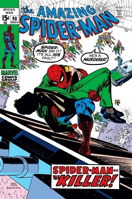 Spider-Man #90 via Comic Vine