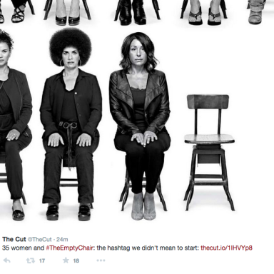 #TheEmptyChair: Why Is It Easier To Believe Bill Cosby Than 35 Women?
