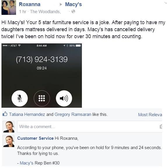 Facebook / Macy's