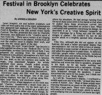 avant garde festival article