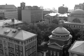 columbia campus from above
