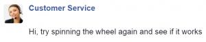 Facebook / Customer Service