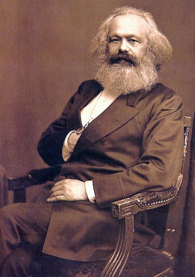 A portrait of Karl Marx / International Institute of Social History in Amsterdam, Netherlands