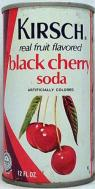 kirsch black cherry soda