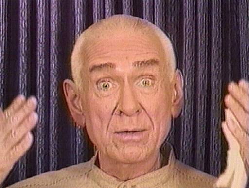 FILE--A group of former Heaven's Gate members has planned a public showing of a 70-minute tape in Berkeley, Calif., featuring the cult's late leader, Marshall Applewhite, shown in this March 28, 1997 file photo.  ``We've been feeling like we're not doing a good enough job of making our information available to people,'' said Chuck Humphrey, a spokesman for the group calling itself the Away Team. Humphrey gained notoriety when he and another man downed a mix of alcohol, phenobarbital and applesauce in May with hopes of joining 39 Heaven's Gate members who committed suicide near San Diego in March.  Wayne Cooke died, but Humphrey was found in a hotel near San Diego unconscious with a plastic bag pulled off his face. He was revived.  (AP Photo/File)